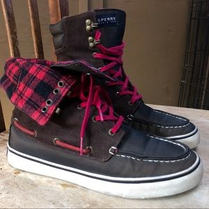 Top Sider High Top Sperrys